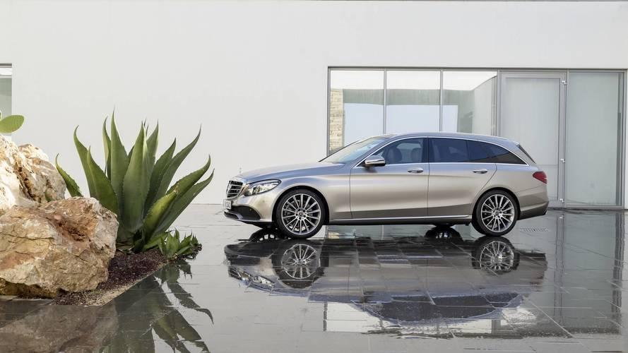2019 Mercedes C Class wagon facelift