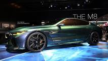BMW M8 Gran Coupe concept car