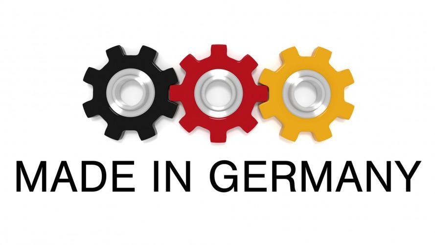 Cartello tedesco dell'auto: