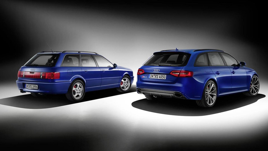 Audi RS4 Avant Nogaro selection introduced, celebrates the original Avant RS2 model
