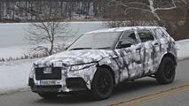 2015 / 2016 Jaguar Crossover Mule spy photos