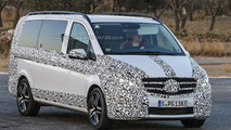 2014 Mercedes V-Class spy photo