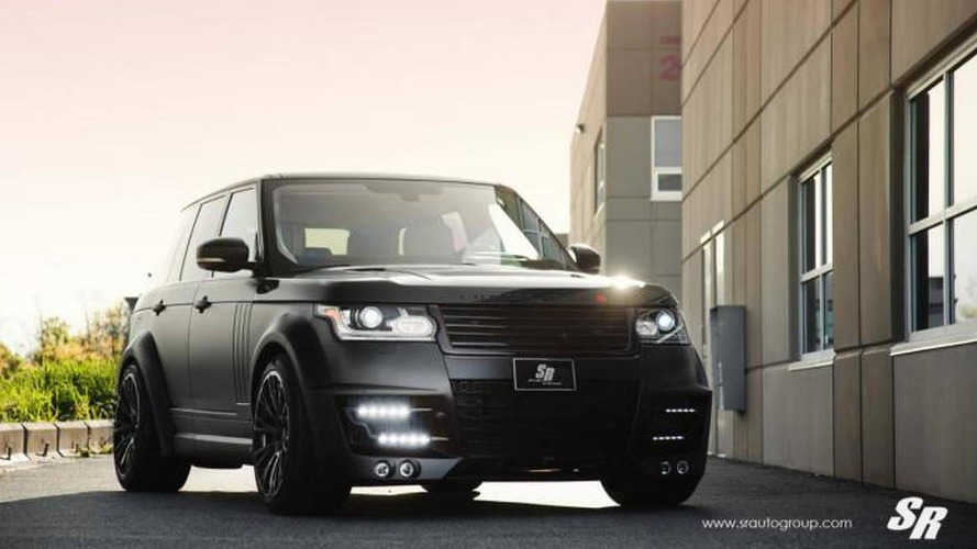 Sinister Range Rover prepared by SR Auto Group with Lumma Design parts