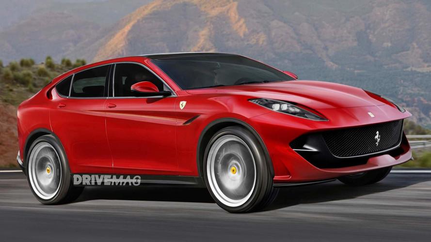 Ferrari SUV Rendering