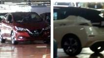 2018 Nissan Leaf fabrika fotoğrafları