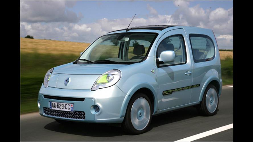 Renault will 2011 gleich drei Elektrofahrzeuge bringen