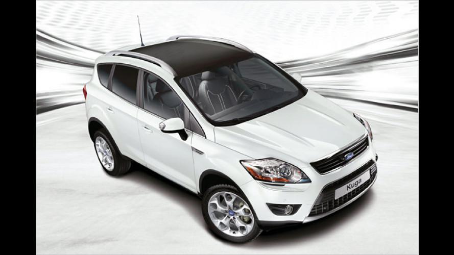 Ford Kuga White Magic: Zauberhaftes Sondermodell