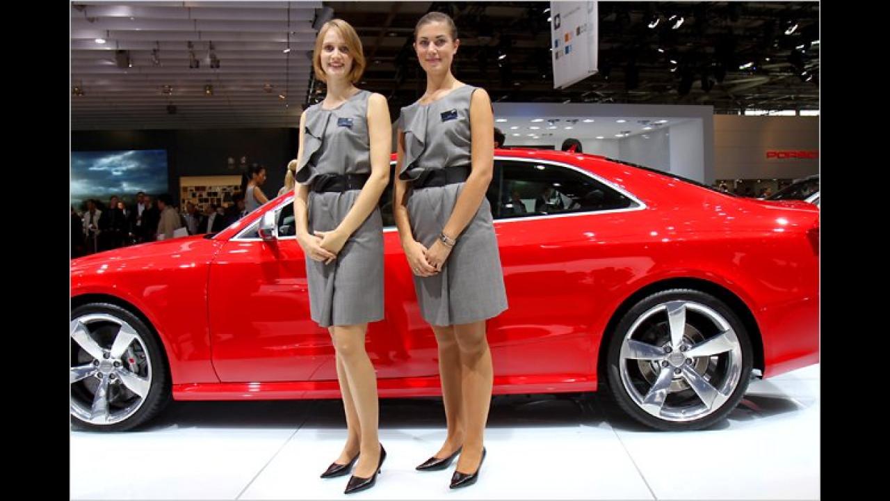 ... und bei Audi gleich zweimal nett