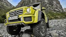 Mercedes G 500 4x4² concept