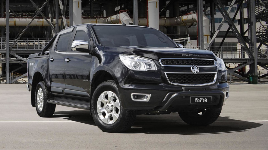 Holden Colorado Black Edition revealed