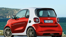 Smart ForTwo Brabus rendering / RM Design