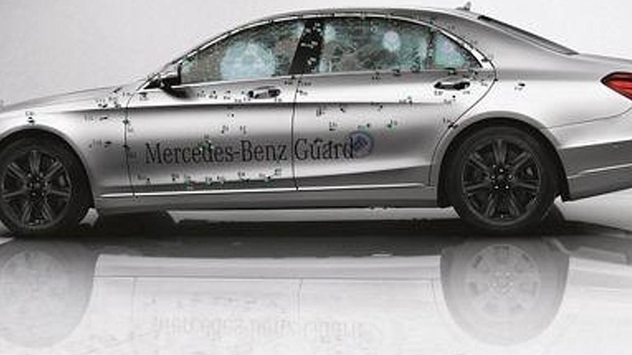 Mercedes-Benz S-Class Guard enters production, up to VR7 protection available
