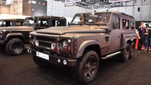 Kahn Design Flying Huntsman 110 WB 6x6 concept at 2015 Geneva Motor Show