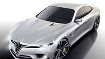 Alfa Romeo Giulia could be offered with 300 PS biturbo 1.8 petrol engine