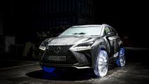 Lexus creates cool NX with ice wheels [videos]