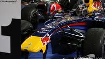 Race winner and 2010 Formula One World Champion Sebastian Vettel, Red Bull Racing