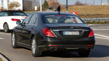 2017 Mercedes S-Class Spy photo