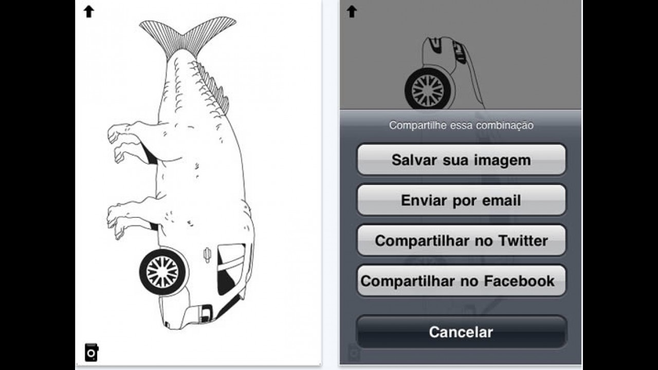 VW lança aplicativo esquisito da SpaceFox para iPhone