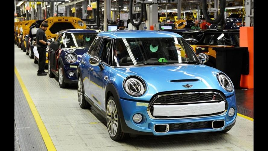 MINI inicia produção do inédito Cooper de quatro portas na Inglaterra