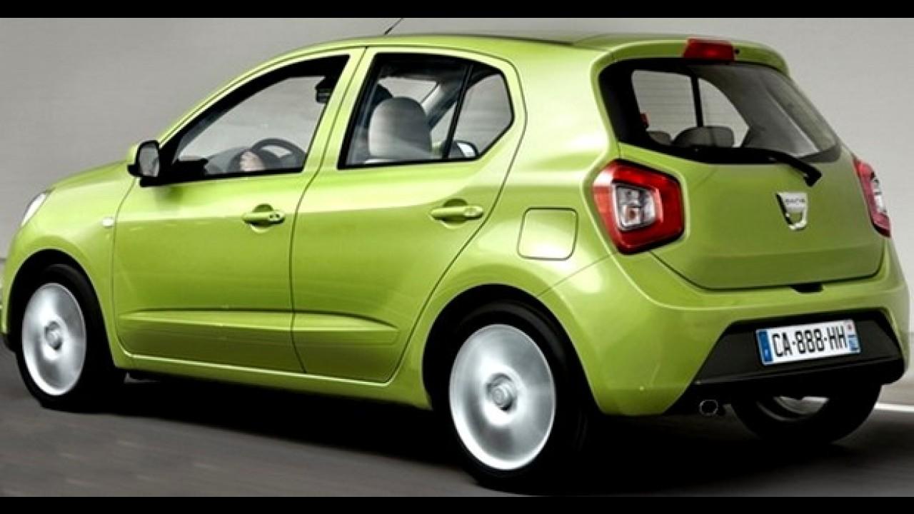 Renault desmente o urbaninho Dacia City de cinco mil euros