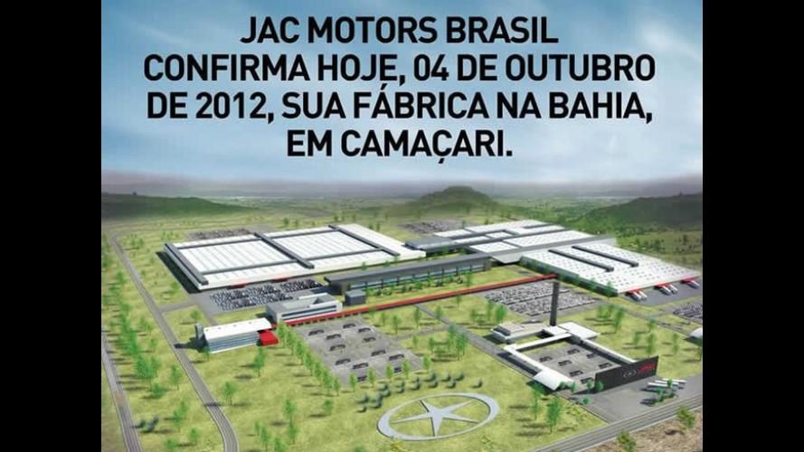 JAC Motors confirma fábrica no Brasil