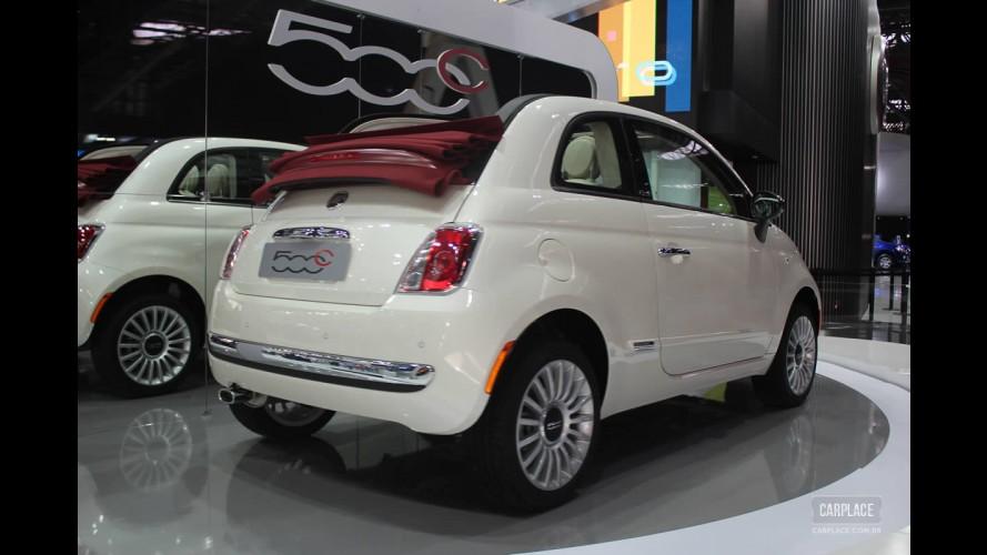 Salão do Automóvel: Fiat 500 Cabrio - Versão conversível é lançada oficialmente