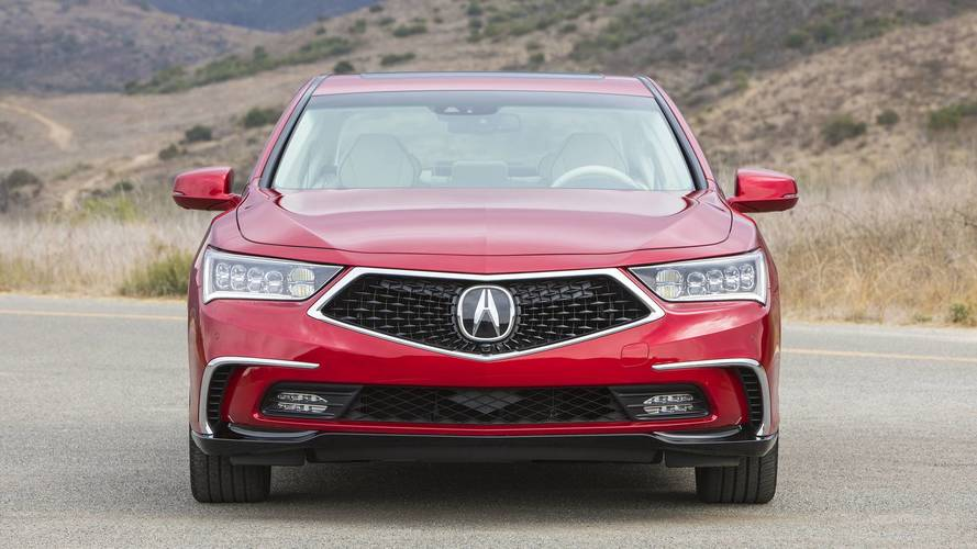 2018 Acura Rlx Sport Hybrid First Drive Gradual Improvement