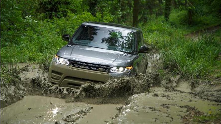 Nuova Range Rover Sport, video-prova su strada e fuori strada