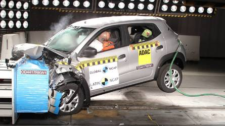 Renault Kwid recebe três estrelas em teste de colisão