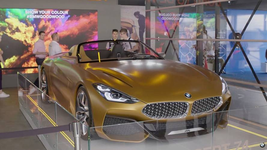 While We're Waiting For The Z4, BMW Is Showing The Concept Again