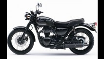 Kawasaki lança W800 Black Edition 2015 na Europa