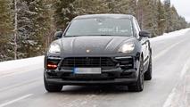 Porsche Macan restylé photos espion