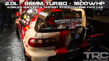 SpeedFactory Racing Honda Civic FWD drag car