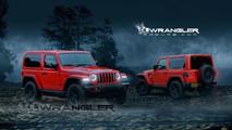 2018 Jeep Wrangler Two-Door Rendering