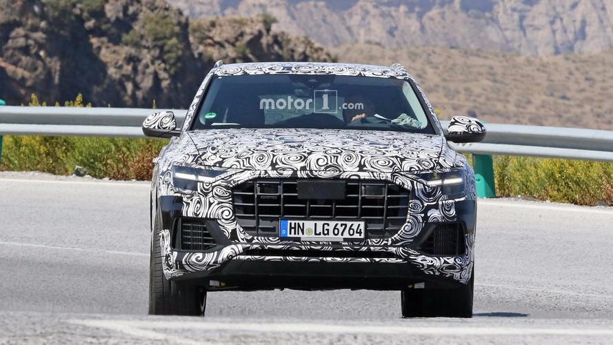 2019 Audi Q8 new spy images including interior