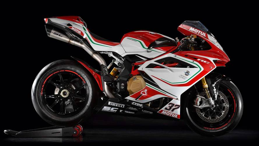 MV Agusta Details 2018 F4 RC Flagship Model