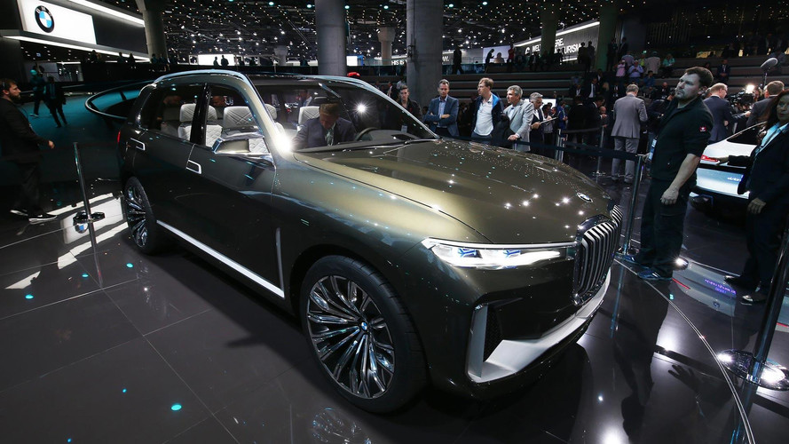 BMW X7 iPerformance Concept - Encore plus imposante et technologique