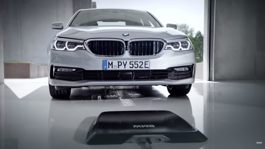 Wireless Charging Comes To The 2018 BMW 530e