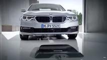 2018 BMW 530e wireless charging