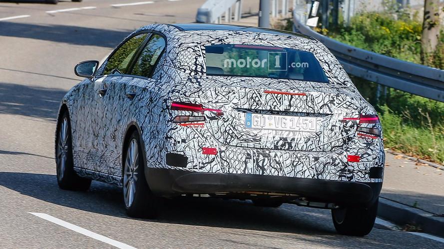 2019 Mercedes A-Class Sedan spy photo