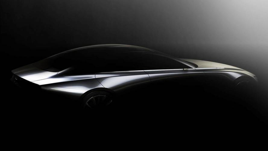 Mazda Teases Sleek Sedan Concept For Tokyo Debut