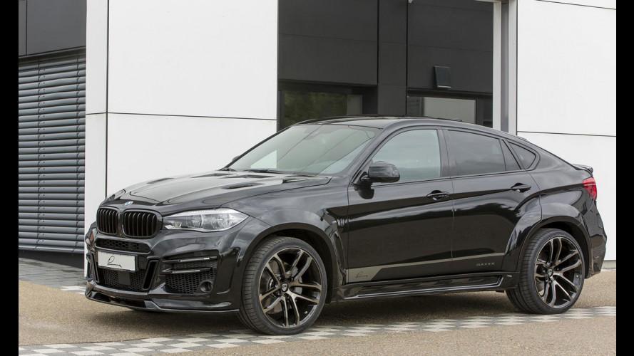 CLR X6R, BMW X6 di nuovo by LUMMA