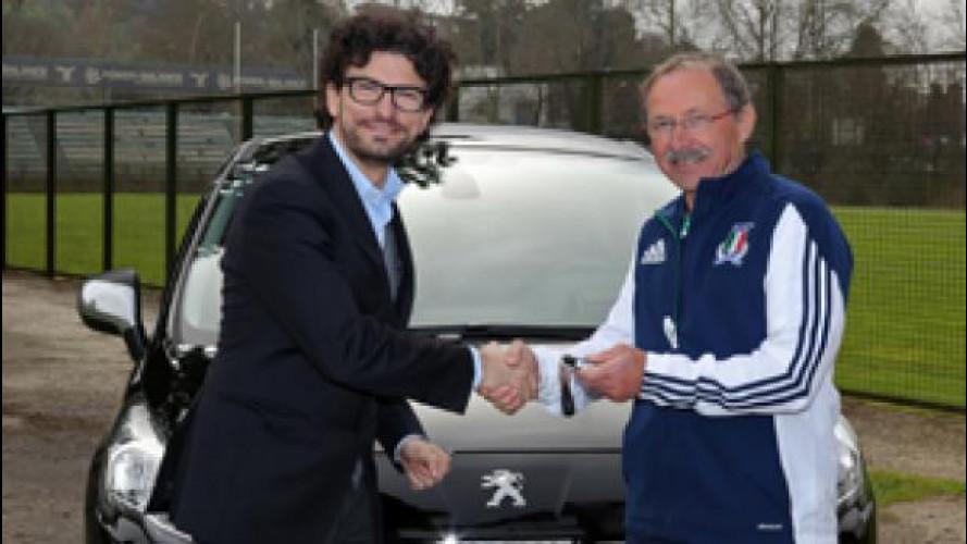 """Peugeot, le auto """"maschie"""" dei rugbisti italiani"""