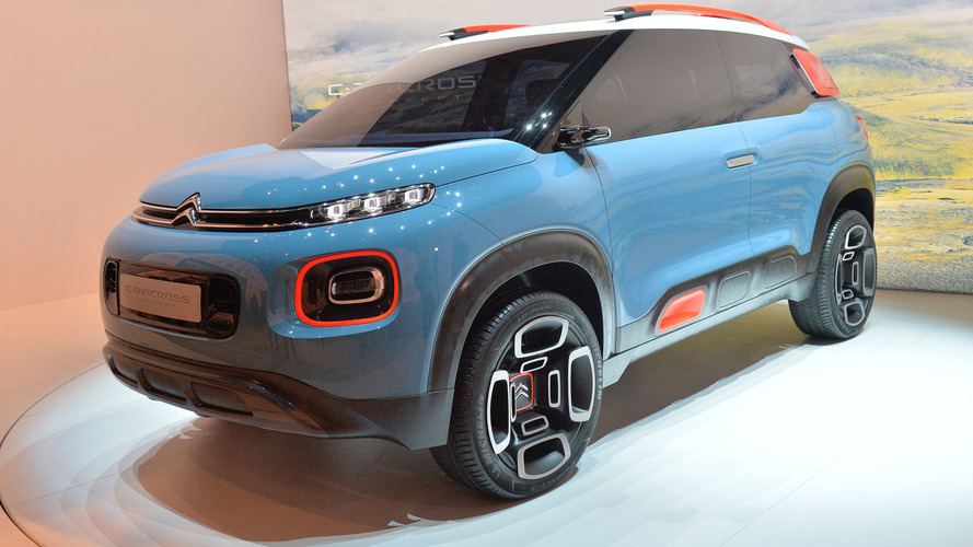 Citroën C-Aircross Concept brings quirkiness to crossovers in Geneva