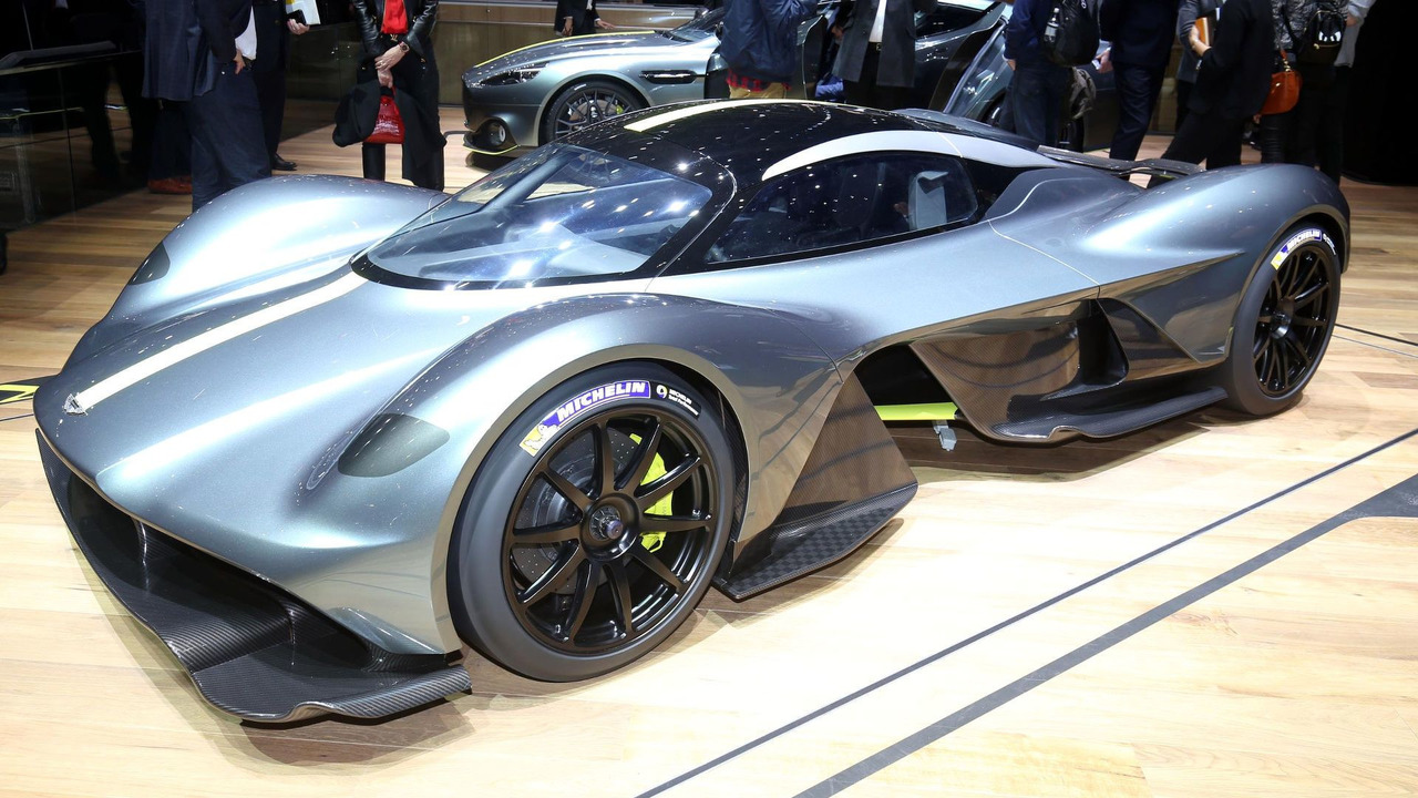 Behold The Beautiful Aston Martin Am Rb 001 Hypercar In 41