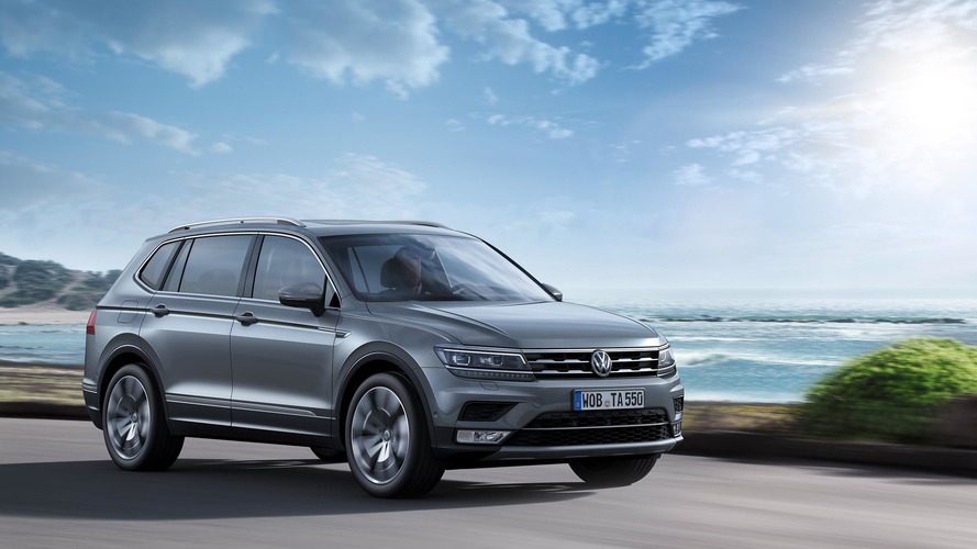 VW Tiguan Allspace Cenevre'de