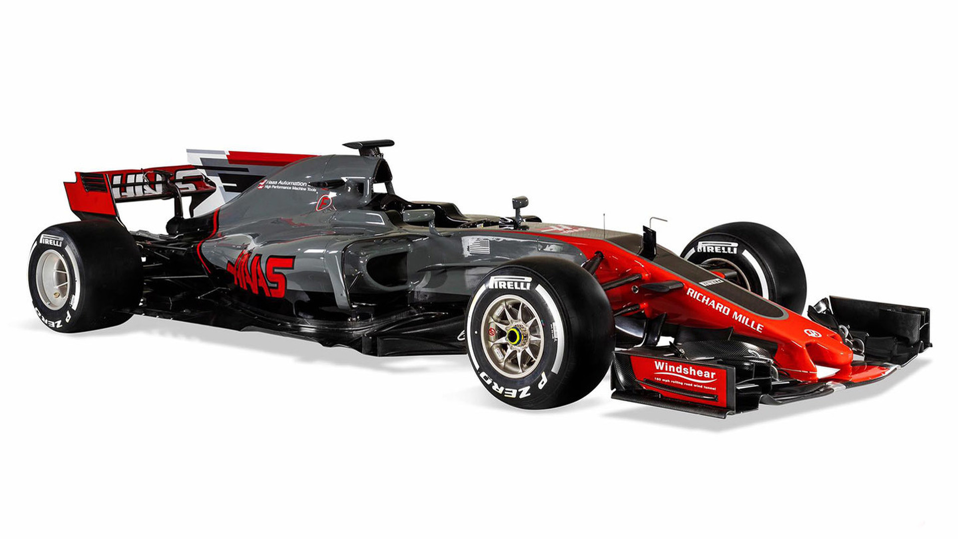 haas reveals its second formula 1 car. Black Bedroom Furniture Sets. Home Design Ideas