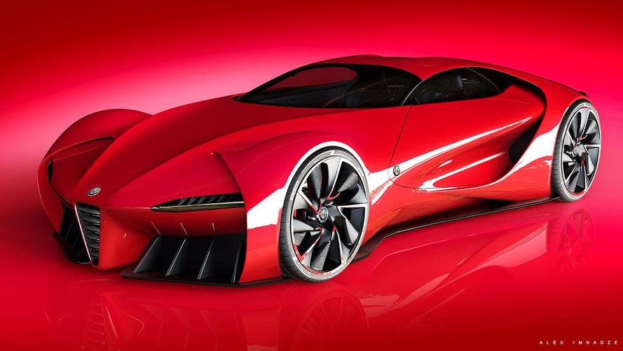 Alfa Romeo 6C Concept Imagines A Modern Disco Volante