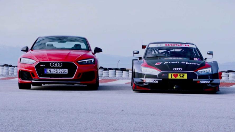 VIDÉO - Trois Audi à côté de leurs versions de course !