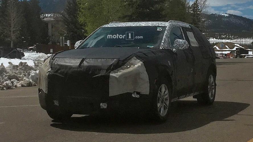 Gizemli Chevrolet SUV'si dağlarda testlerde yakalandı